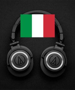 Audio singolo(Italiano)